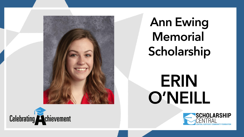 Ann Ewing Scholarship