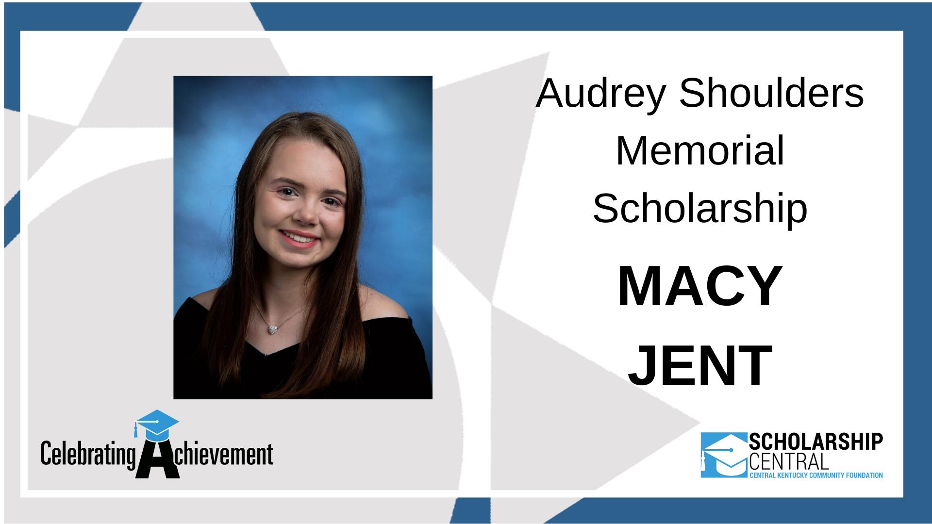 Audrey Shoulders Scholarship