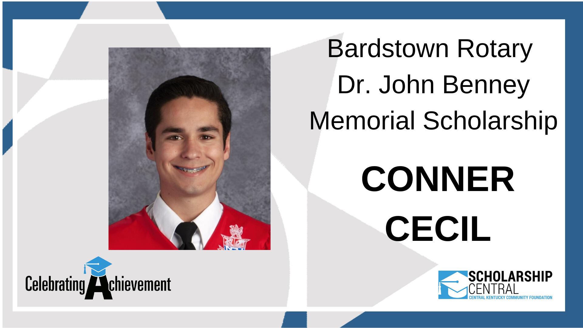 Bardstown Dr John Benney Scholarship