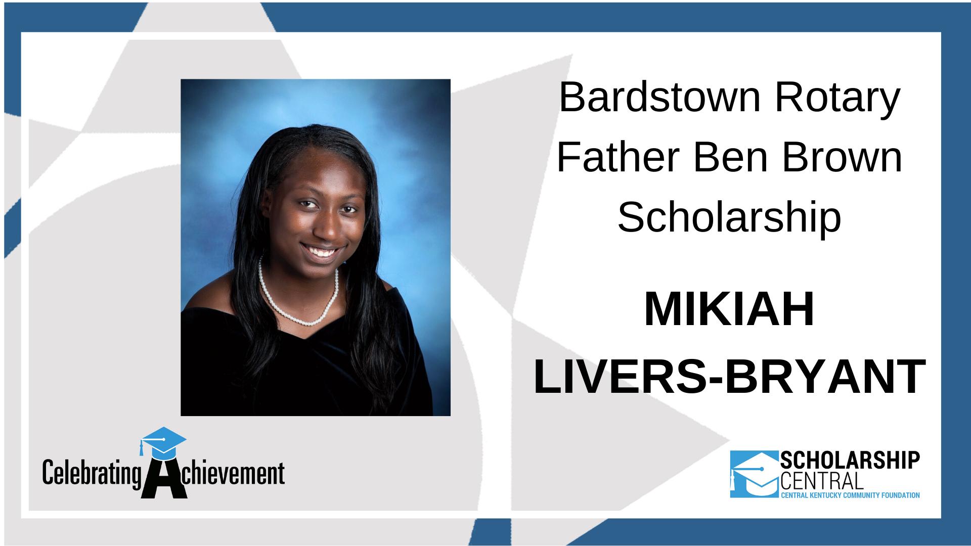 Bardstown Father Ben Brown Scholarship
