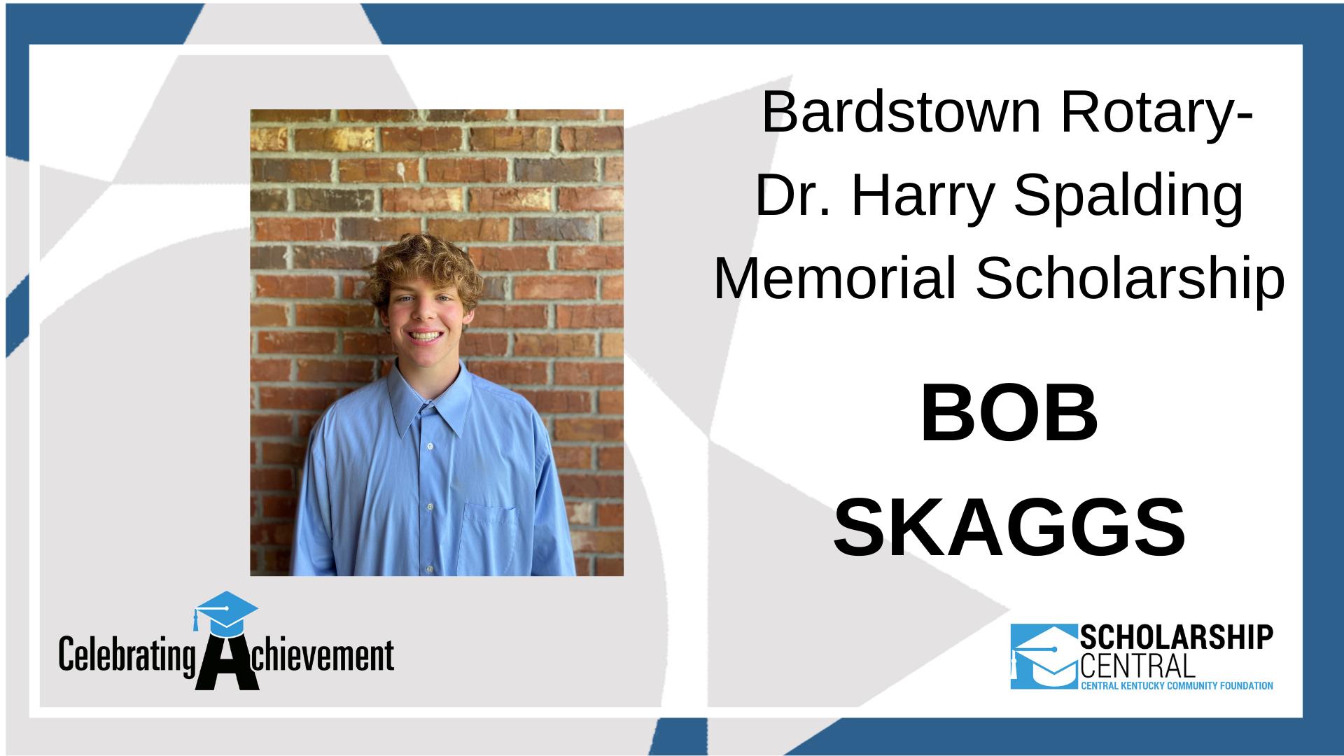 Bardstown Rotary Dr Harry Spalding Memorial Scholarship Winner