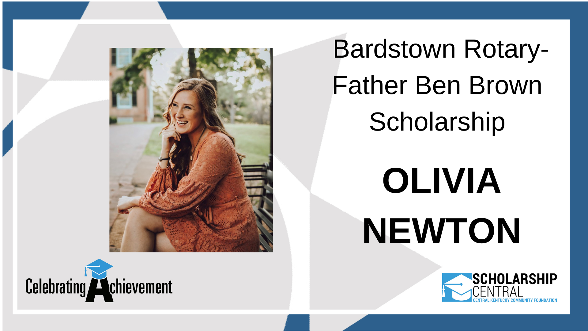 Bardstown Rotary Father Ben Brown Scholarship Winner