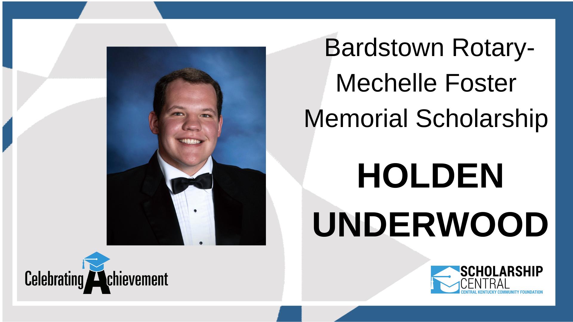 Bardstown Rotary Mechelle Foster Memorial Scholarship Winner