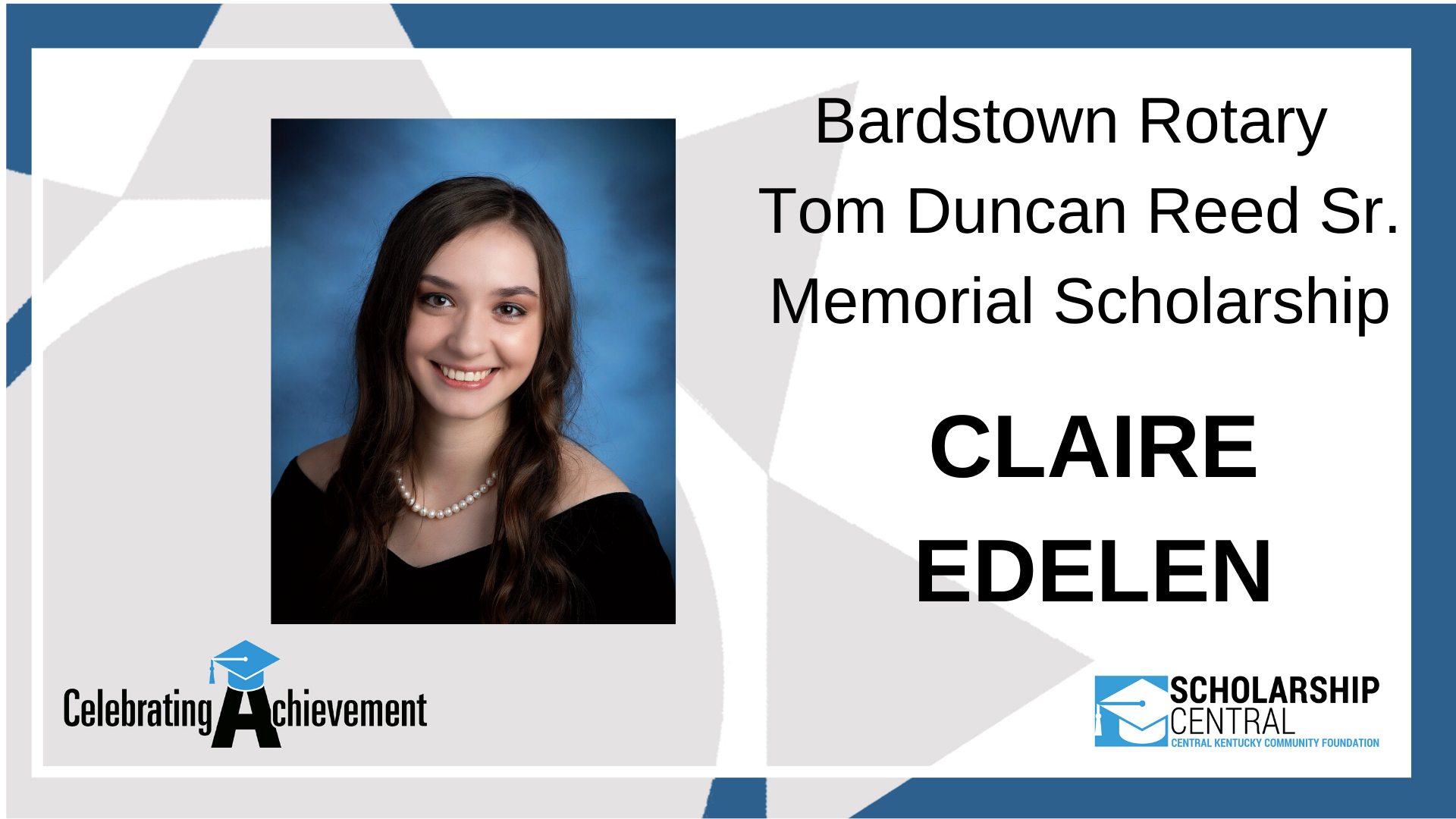 Bardstown Tom Duncan Reed Scholarship