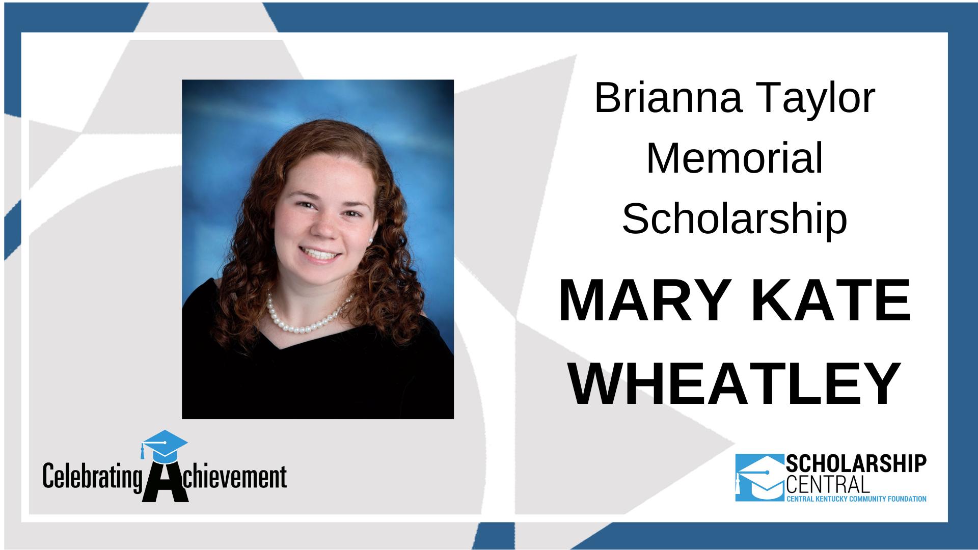 Brianna Taylor Scholarship