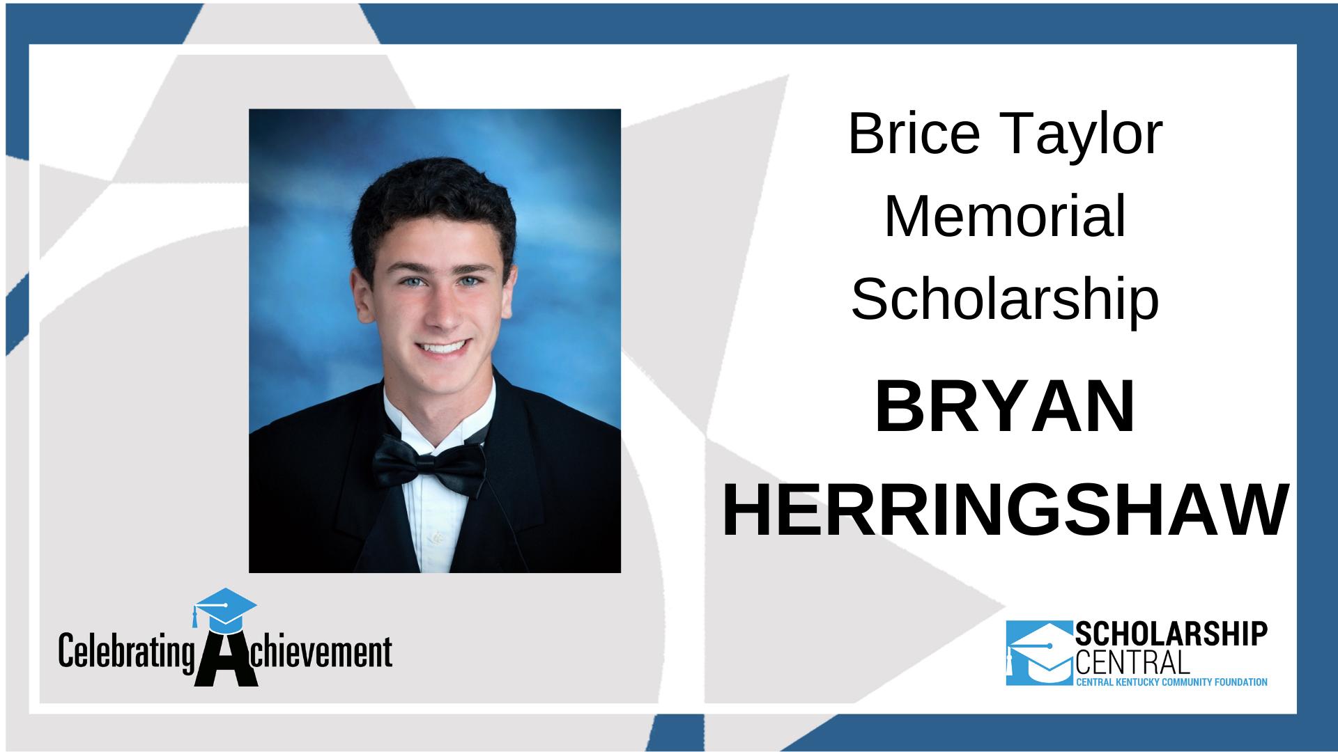 Brice Taylor Scholarship