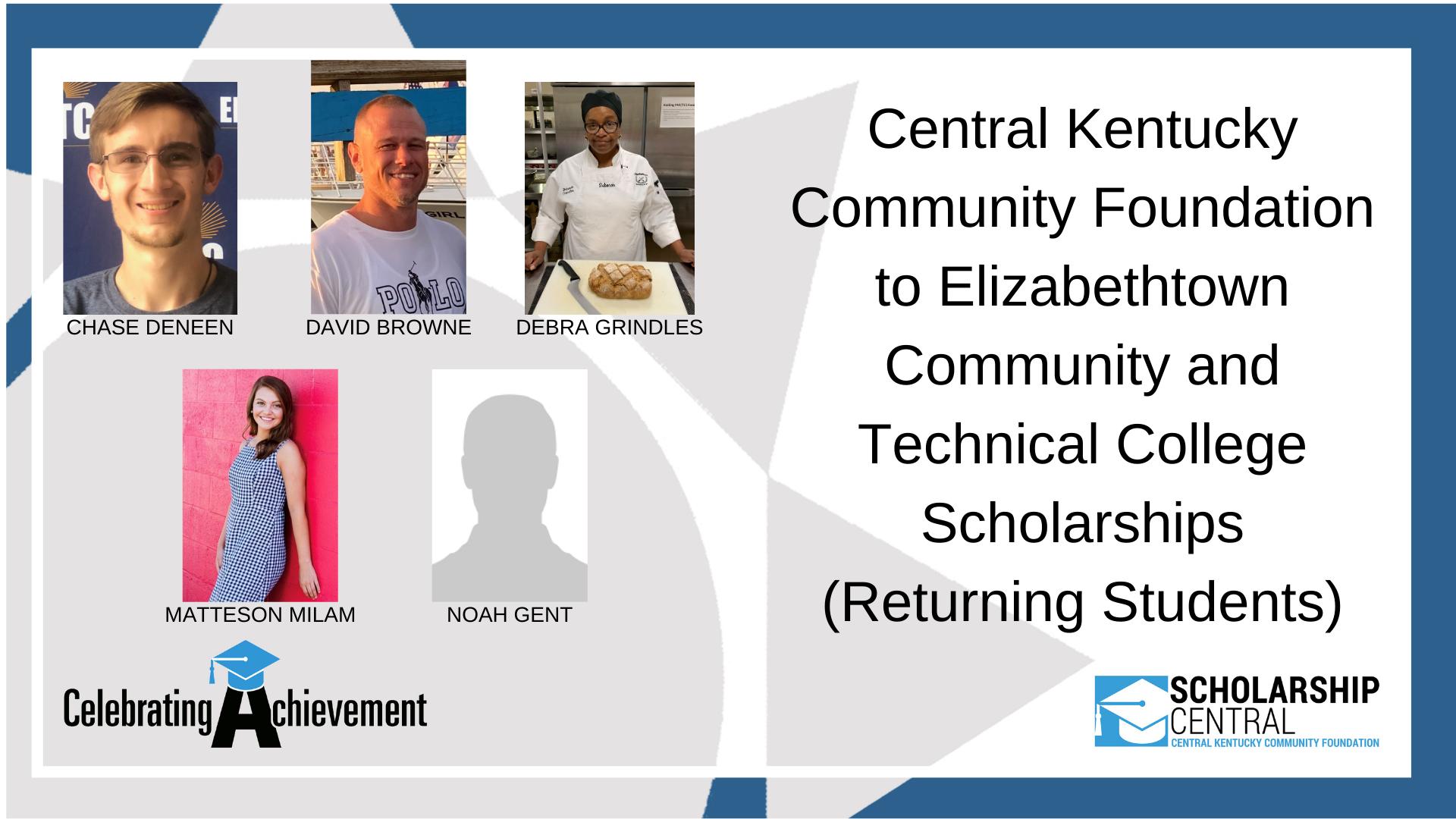 CKCF to ECTC Scholarship RETURNING Winners 3