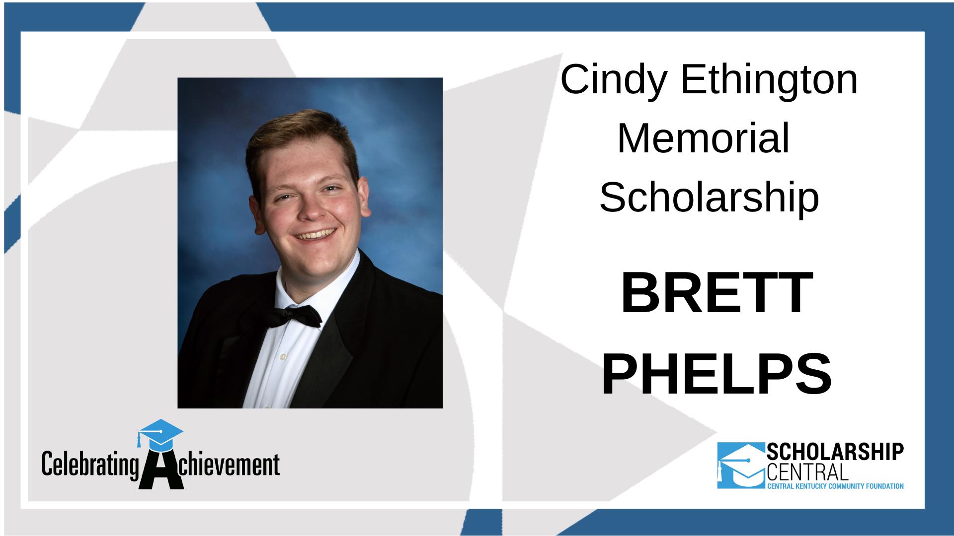 Cindy Ethington Memorial Scholarship Winner
