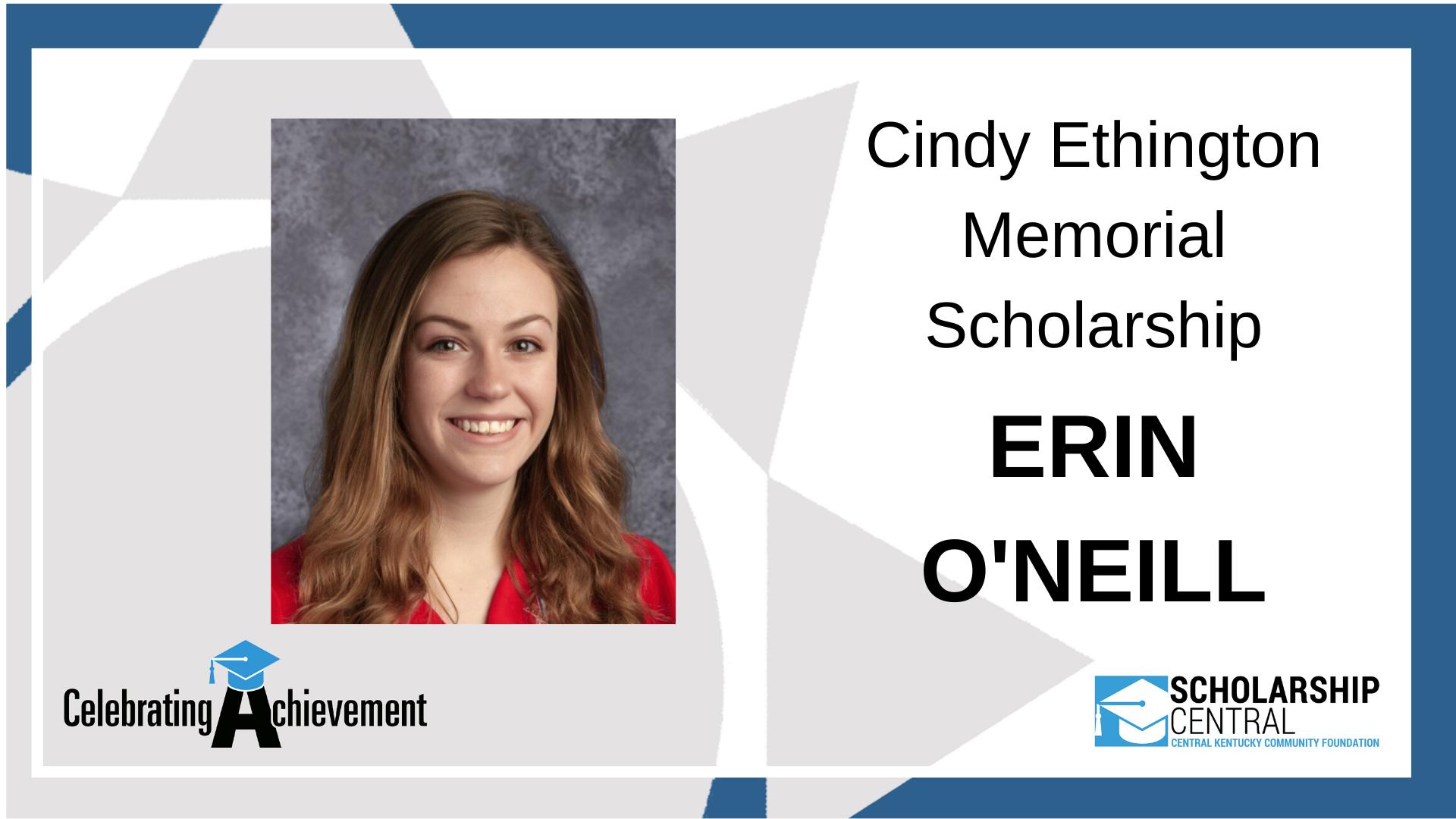 Cindy Ethington Scholarship
