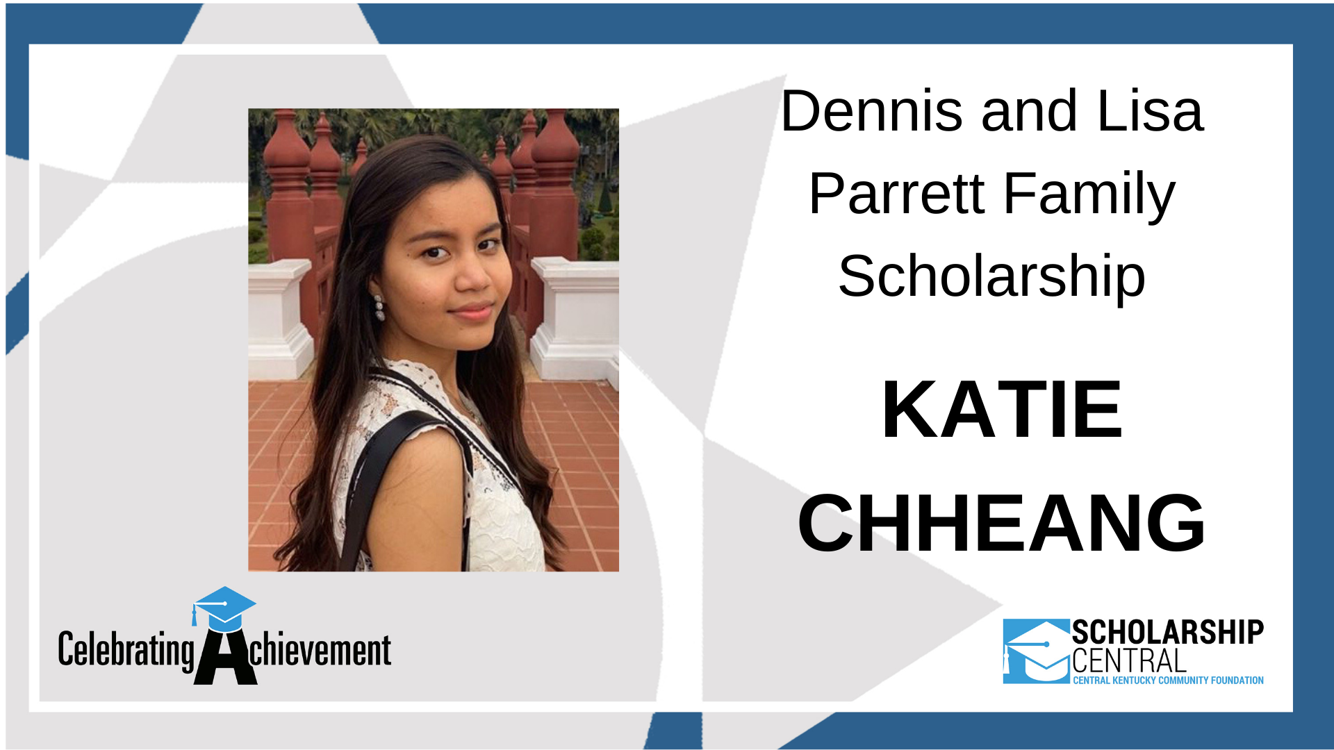 Dennis and Lisa Parrett Scholarship