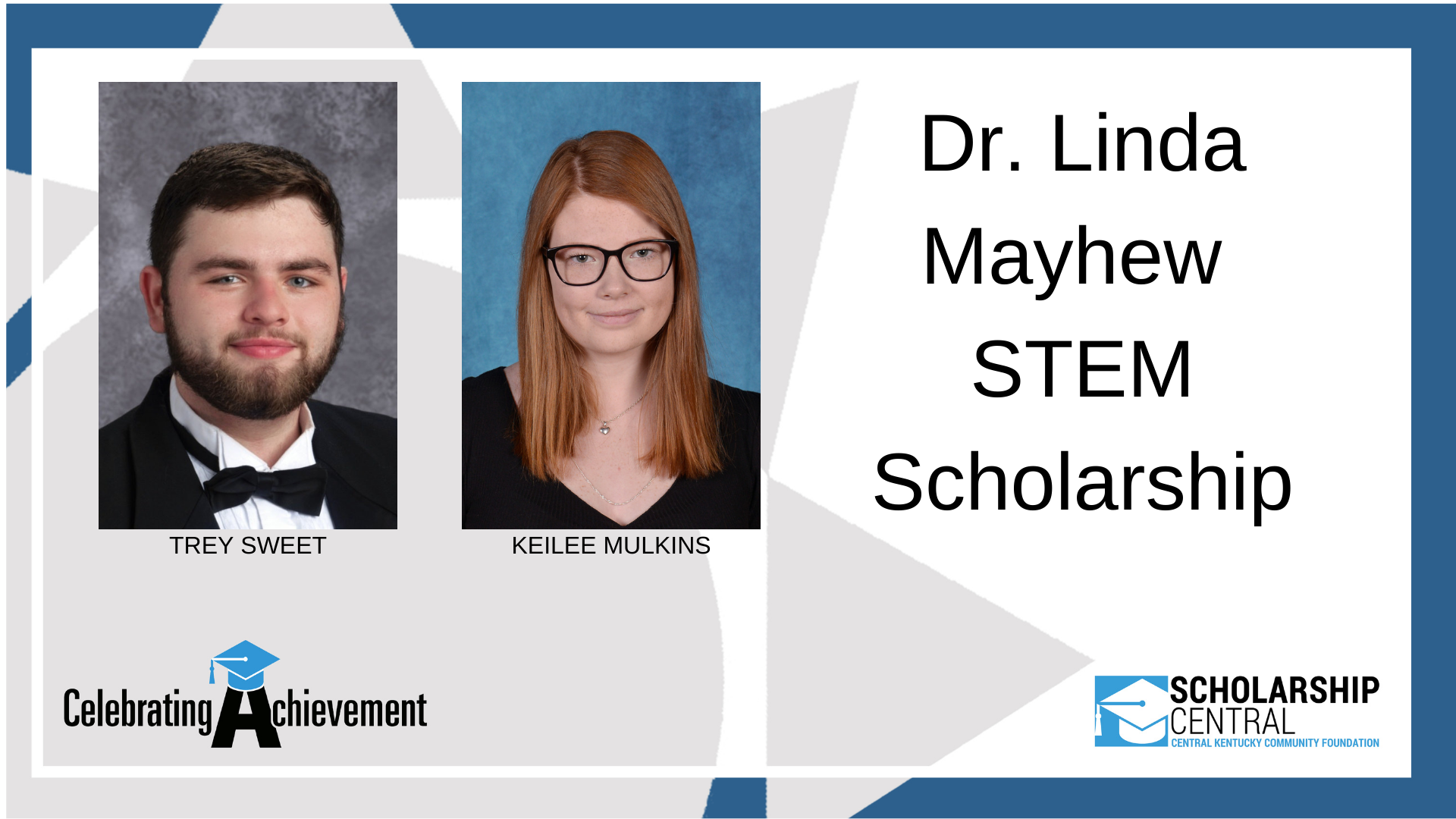 Dr Linda Mayhew STEM Scholarship Winners