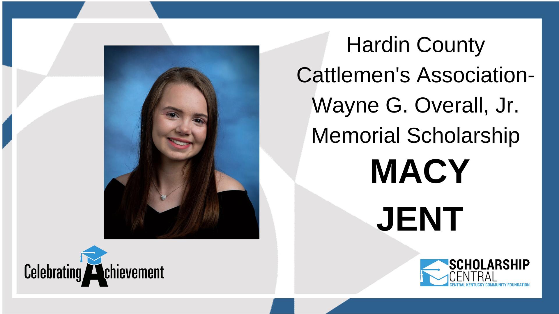 HC Cattleman Wayne G. Overall Scholarship