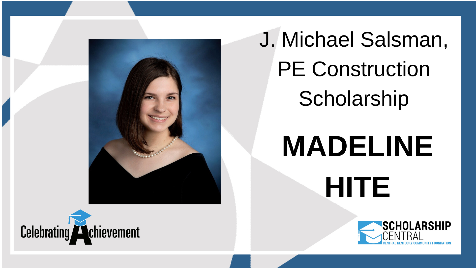 J Michael Salsman Scholarship