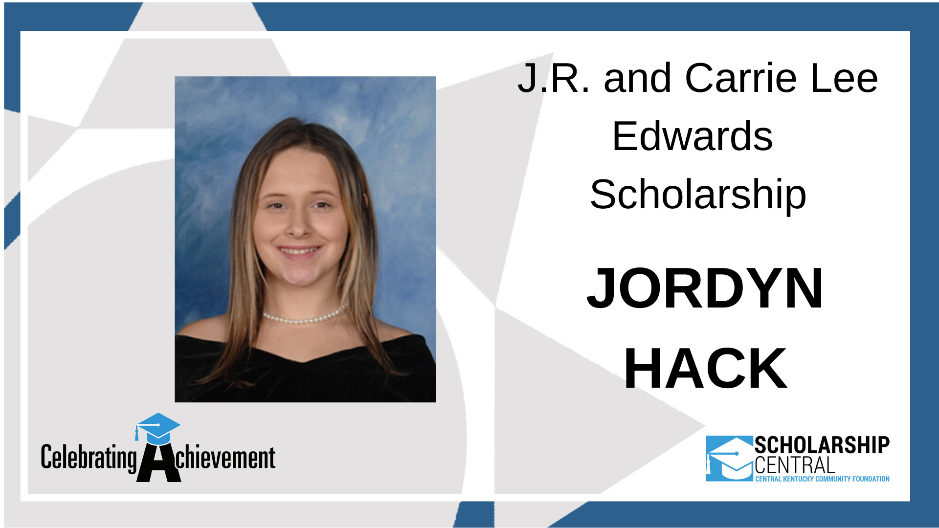 JR and Carrie Lee Edwards Scholarship2