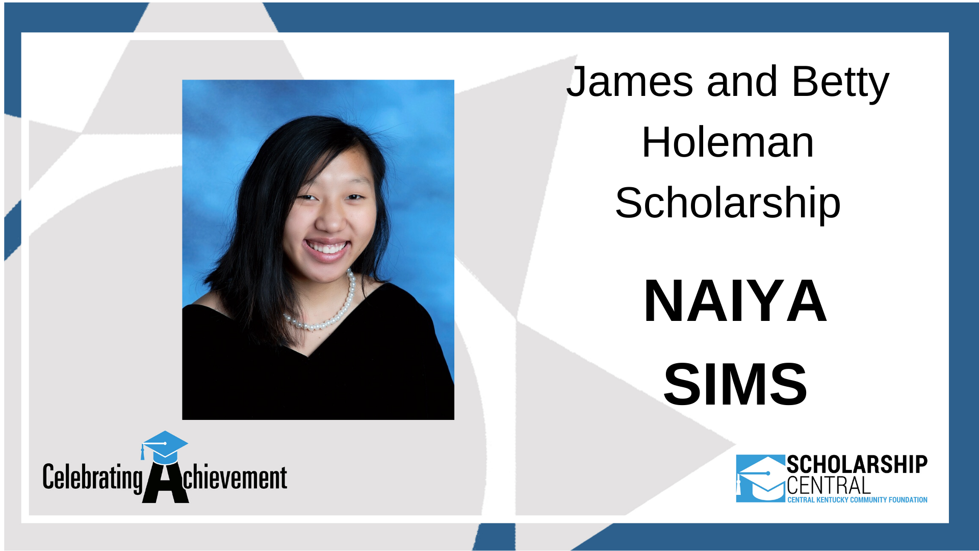 James and Betty Holeman Scholarship