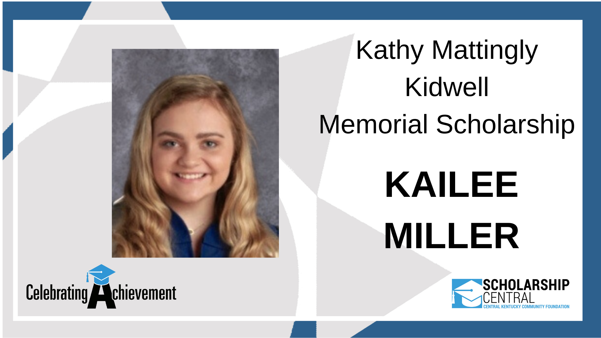 Kathy Mattingly Kidwell Scholarship