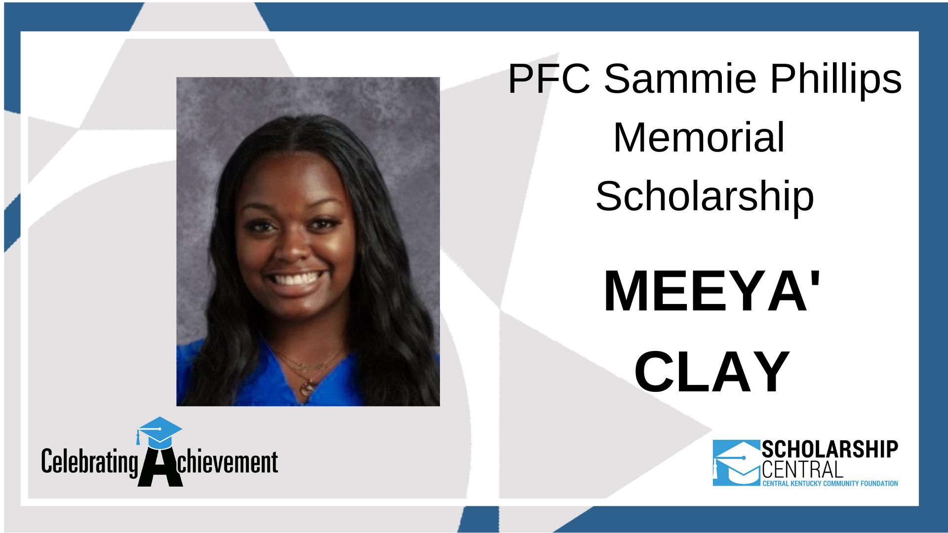 PFC Sammie Phillips Scholarship