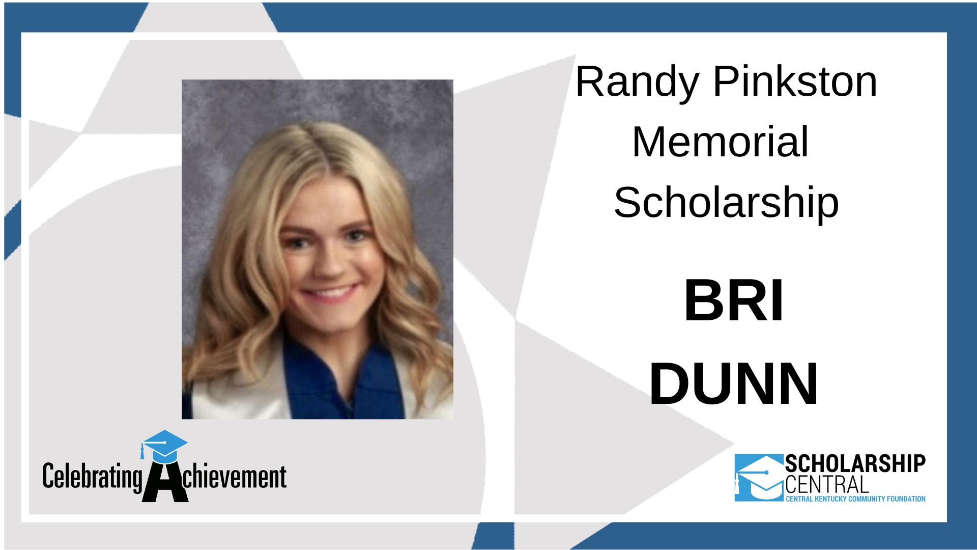 Randy Pinkston Scholarship