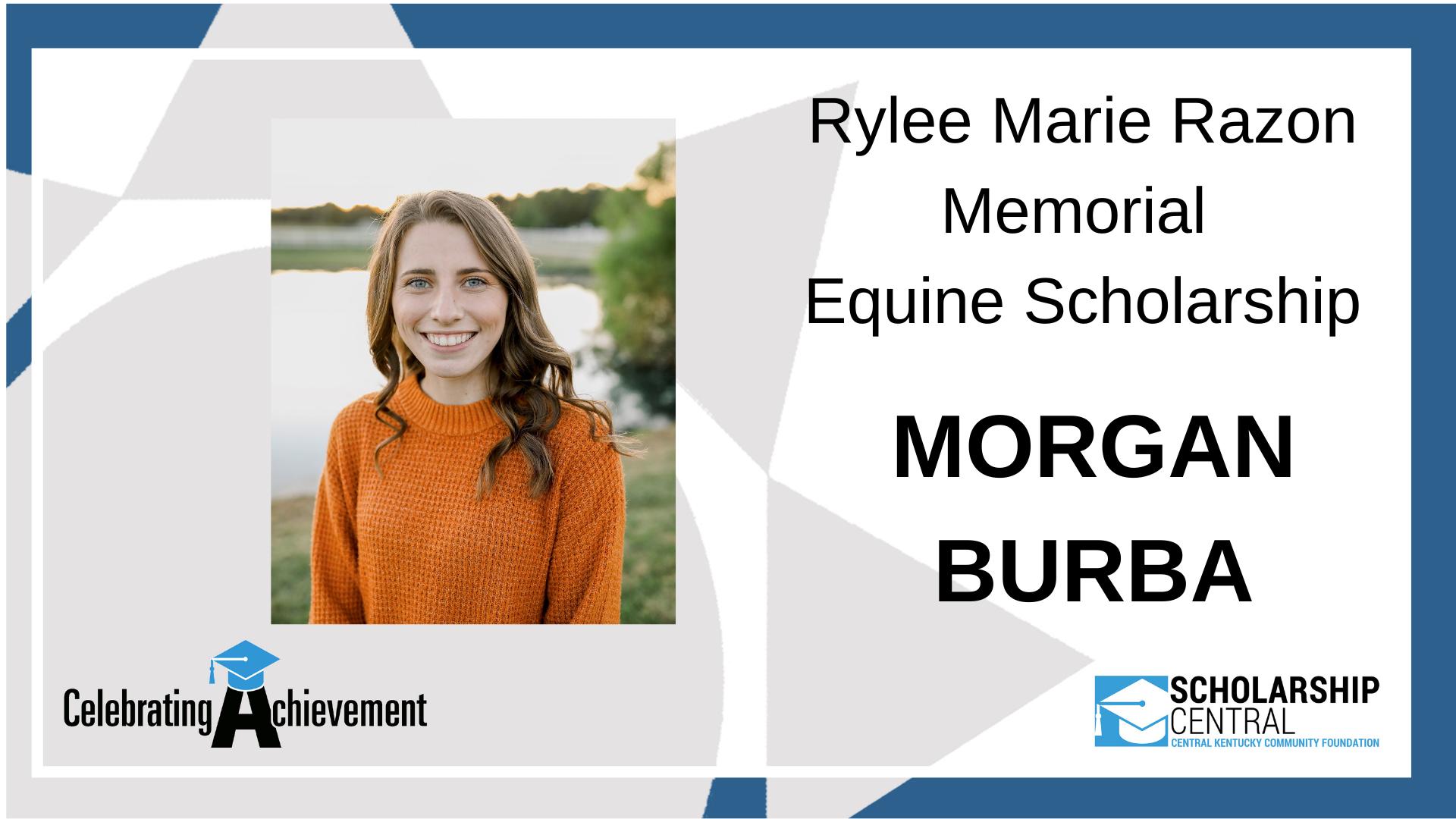 Rylee Marie Razon Memorial Equine Scholarship Winner