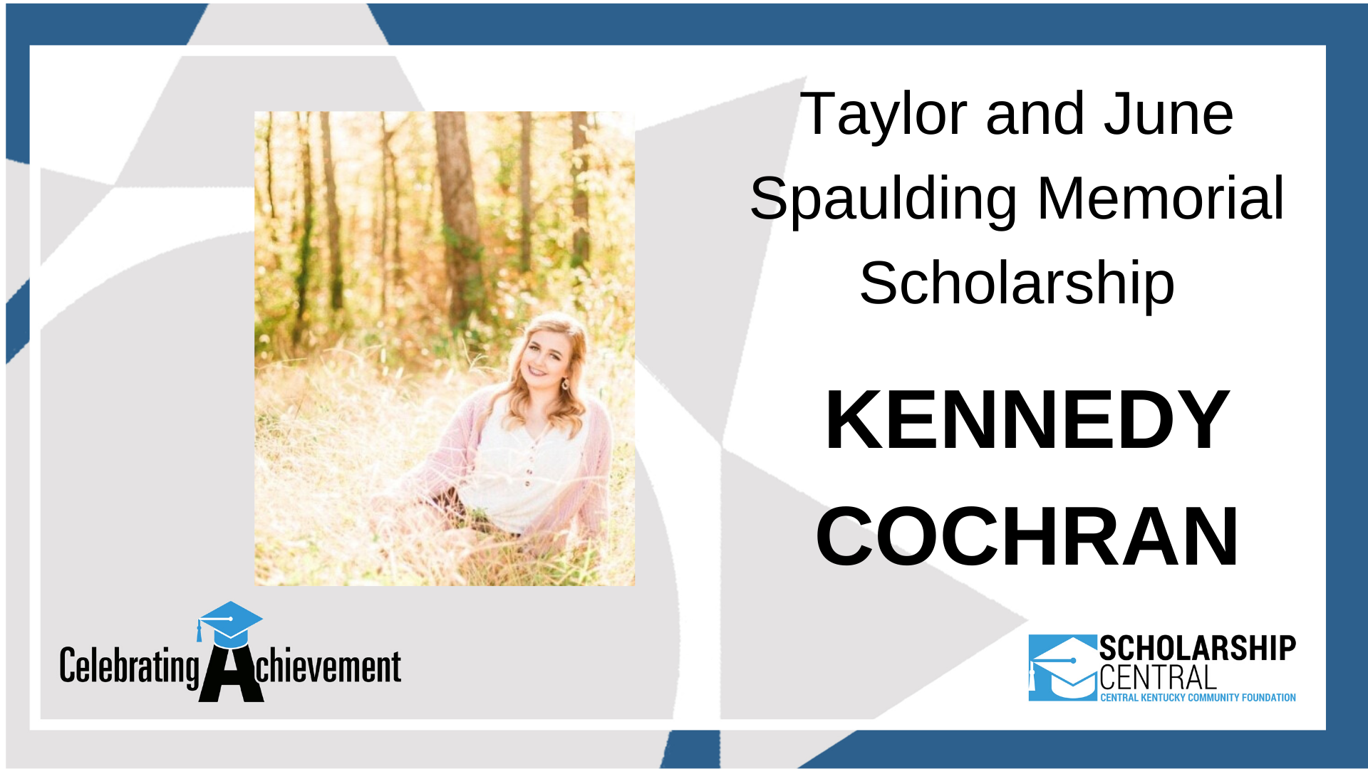 Taylor and June Spaulding Scholarship